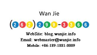 《Google Voice 号码名片》