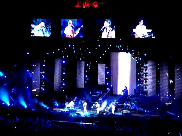 《纵贯线上海演唱会视频》