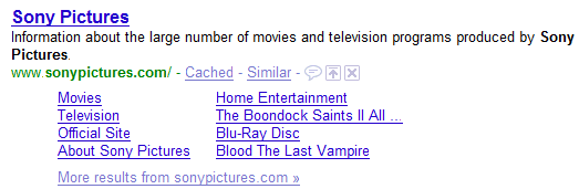 sonypictures.com domain name