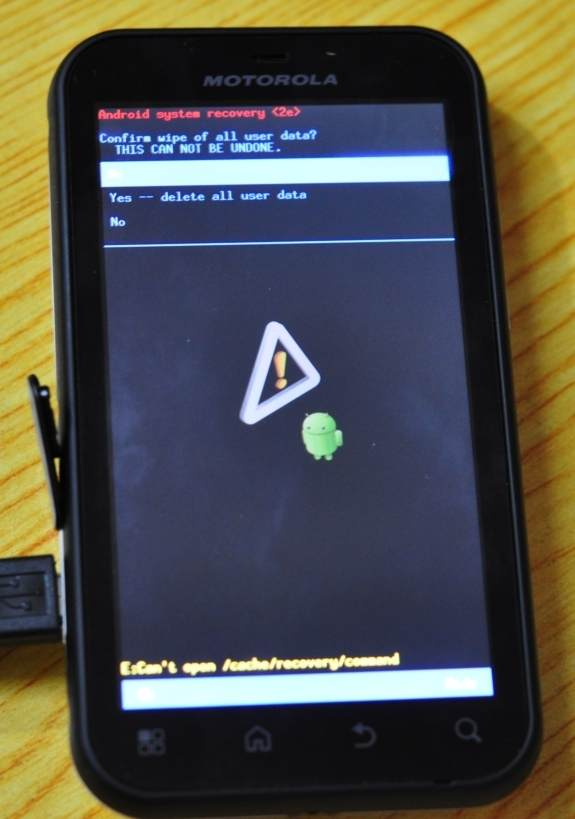 《Flash new ROM on your Motorola Defy》