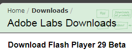 《flashplayer 29 offline installer》